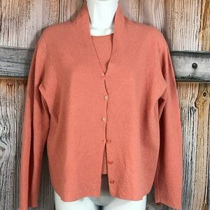 Eileen fisher cardigan M